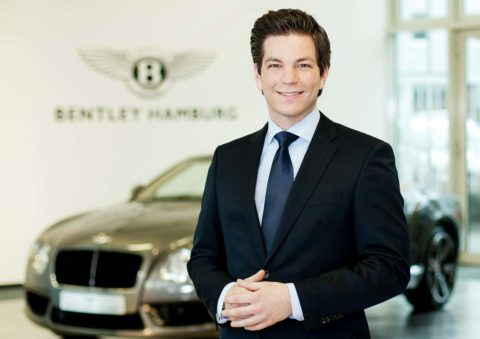 Businessportrait Bentley Hamburg
